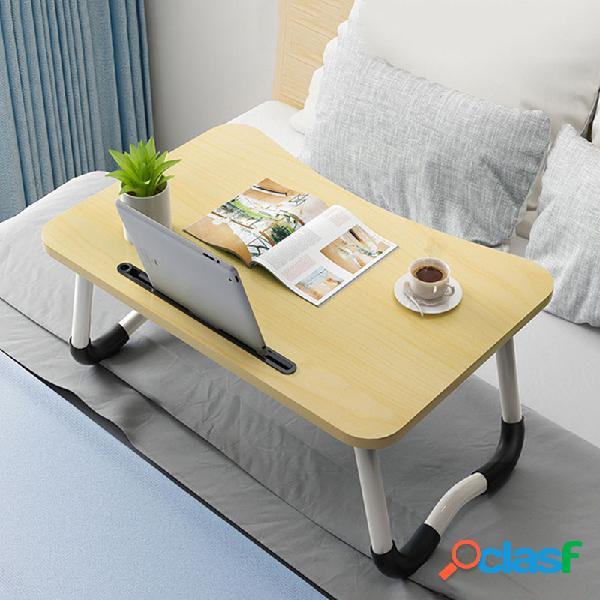 Sedile regolabile regolabile per ufficio letto tavolino tavolo pieghevole pigro semplice scrivania camera da letto per laptop