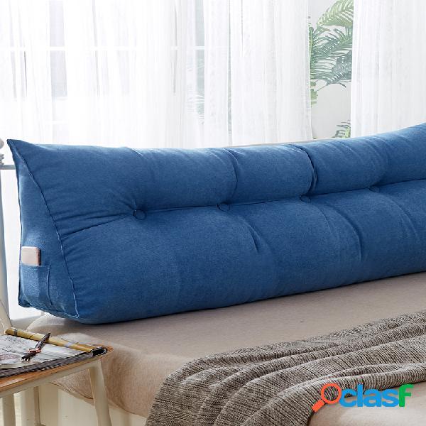 cuscino triangolare a cuneo multicolore cuscino da comodino cuscino da letto supporto per posizionamento schienale cuscino da lettura cuscino lombare per ufficio soft