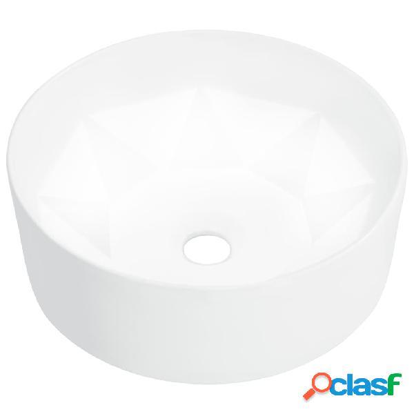 Vidaxl lavandino 36x14 cm in ceramica bianco