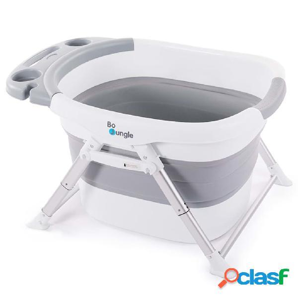 Bo jungle b-foldable vasca per la doccia dei bambini grigio e bianco