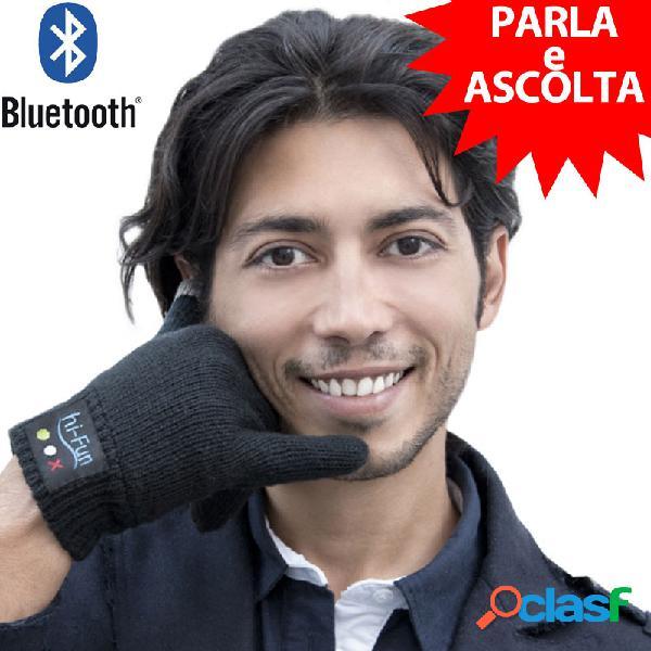 Guanto telefonico hi call uomo bluetooth che si collega al tuo smartphone permettendoti di telefonare
