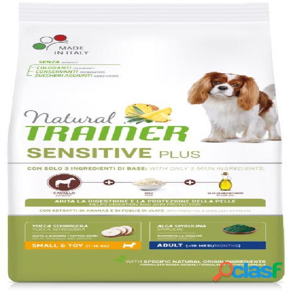 Trainer natural sensitive plus adult small & toy / mini kg 2 cavallo