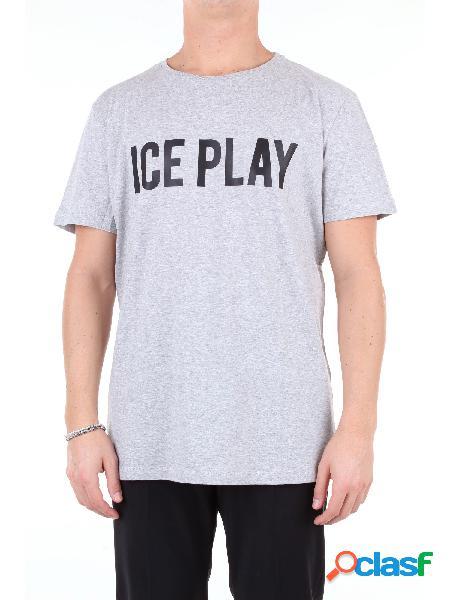 Ice t-shirt manica corta uomo grigio
