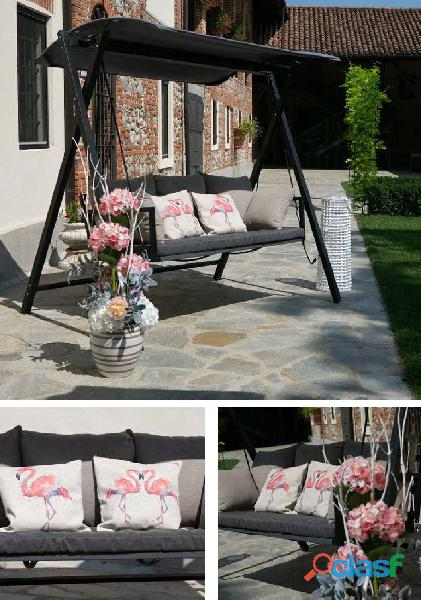 Dondolo da giardino robusto nuovo art.6451940000 consegna gratuita arredamentishop.it