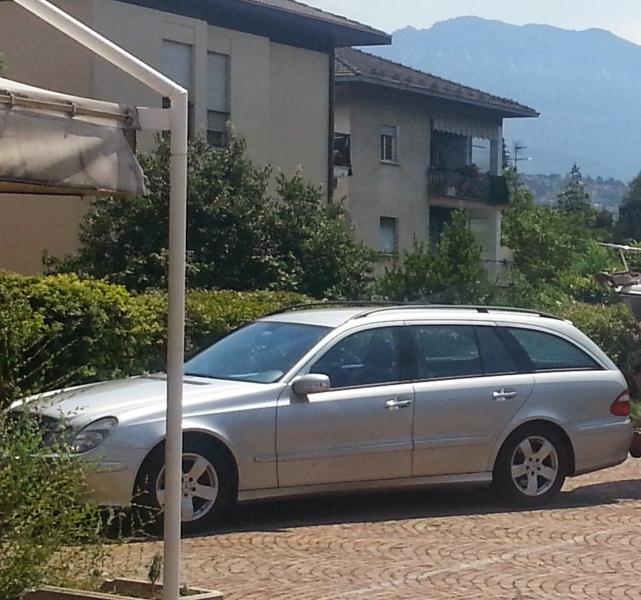 Mercedes classe e sw vendo