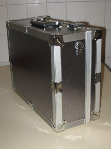 Valigetta porta cd in alluminio