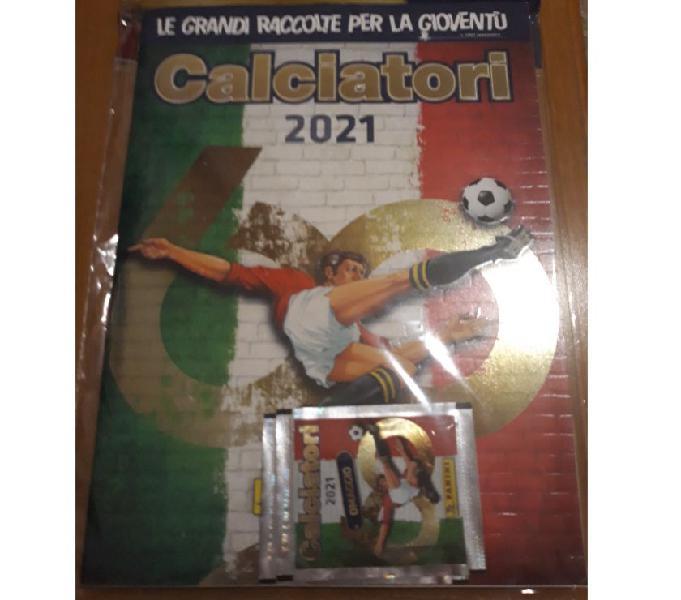 Album calciatori panini 2021 vuoto e sigillato scandiano - collezionismo in vendita