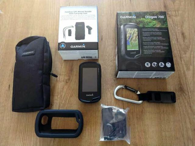 Gps touchscreen garmin oregon 700 + supporto bici