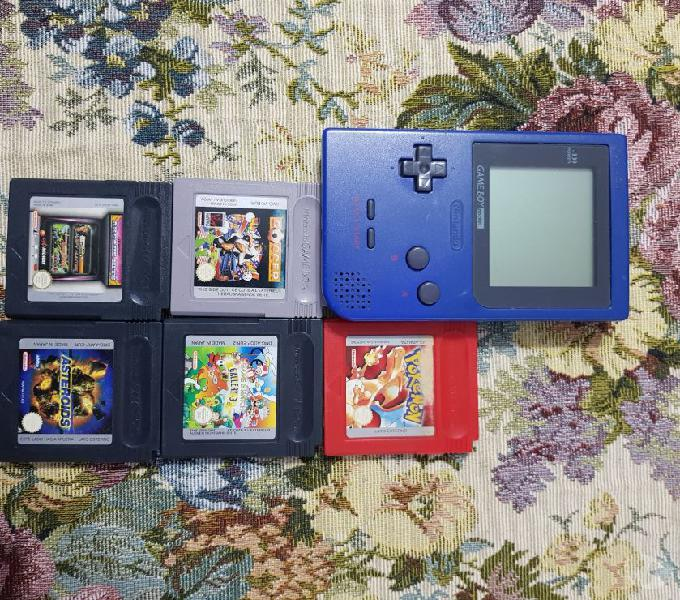Game boy pocket e giochi modena
