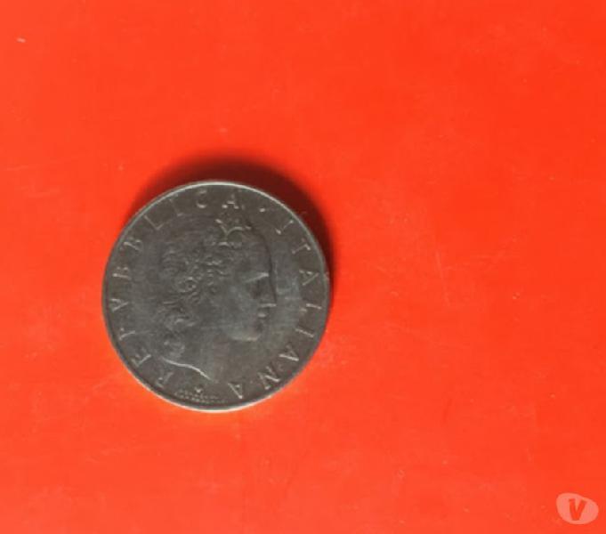 Rara moneta 50 lire del 1958 napoli - collezionismo in vendita