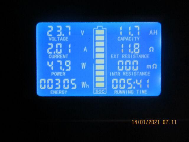 Tester dc 0-200v 300° corredato di shunt 100 a