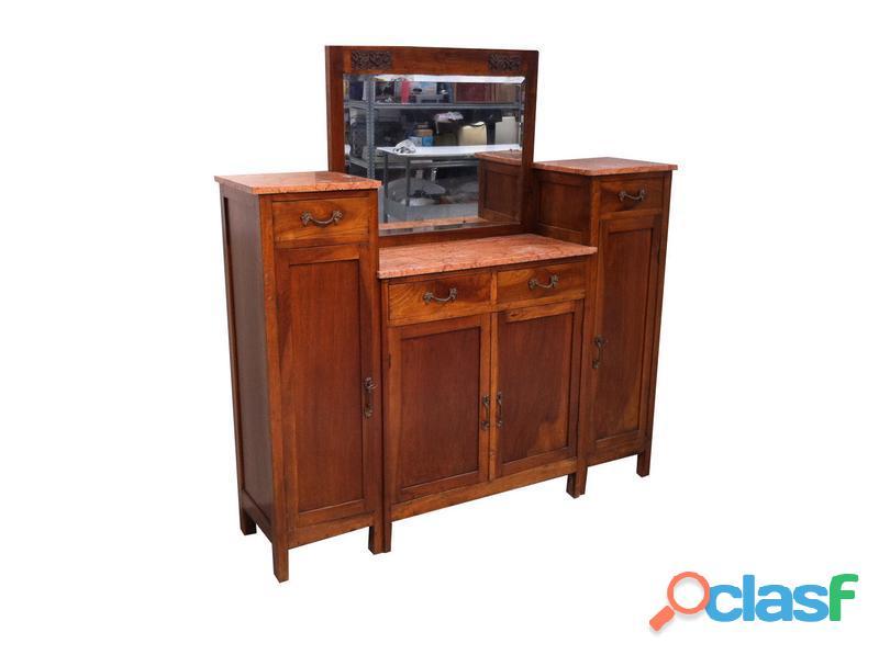 Credenza vintage primi anni 900 legno massello
