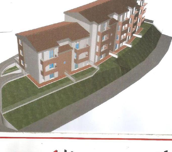 Nuovo pt mq.105 con giardino solo €. 105.000 bibbiena - casa in vendita