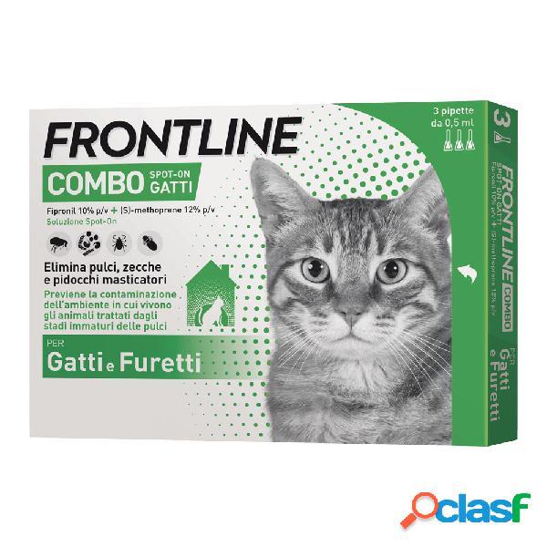 Frontline combo spot-on gatti e furetti 3 pipette