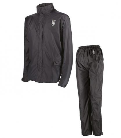Completo impermeabile antipioggia giacca pantalone moto