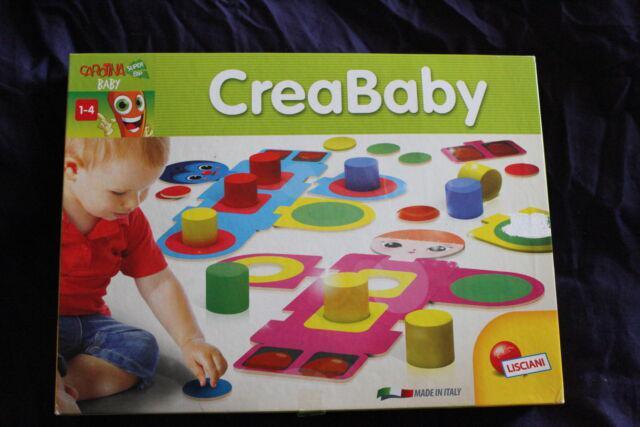 Gioco crea baby lisciani più gioco dell'oca tascabile