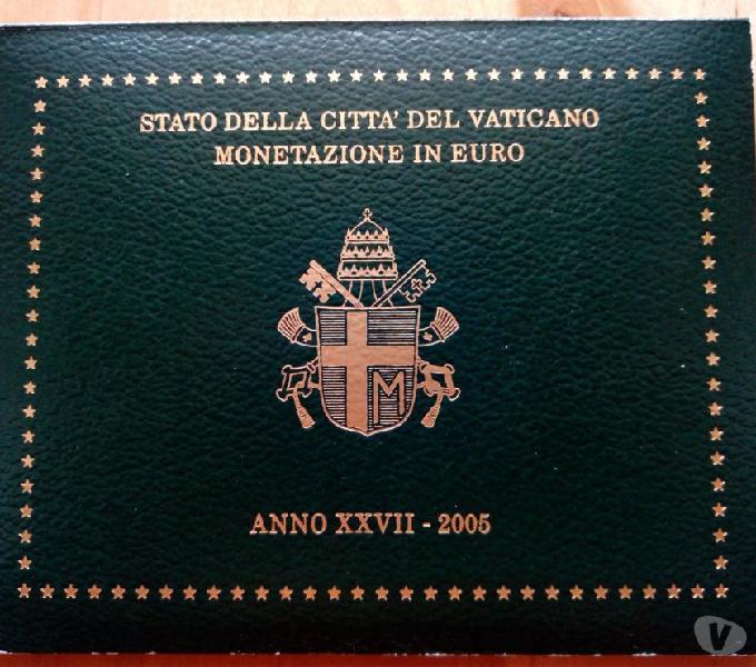 Monete euro vaticano 2005 fdc roma - collezionismo in vendita