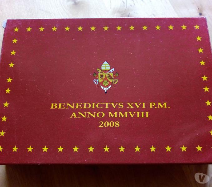 Monete euro vaticano 2008 proof roma - collezionismo in vendita
