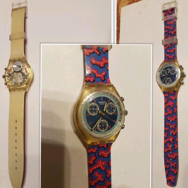 Orologi swatch crono new anni 90 funzionanti certificati