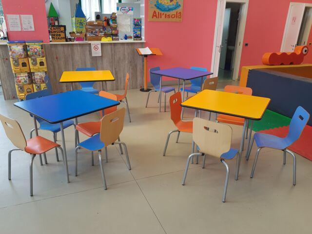Sedie tavolini