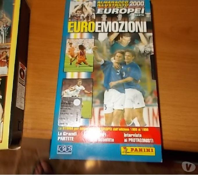 Vhs - euro emozioni - camionato europeo di calcio 2000 scandiano - collezionismo in vendita