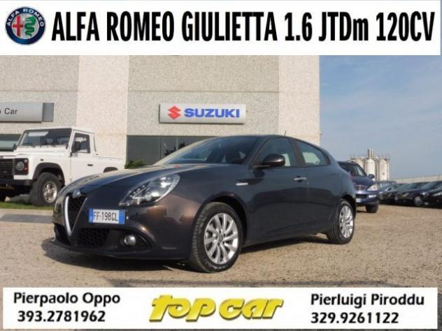 Alfa romeo giulietta 1.6 jtdm 120 cv tct autom/sequenz. rif.