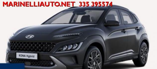 Hyundai kona hev 1.6 dct xline + safety pack nuova