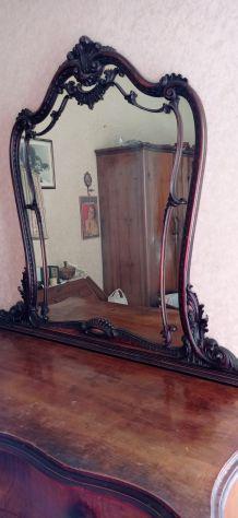 Specchiera vintage in stile rococò