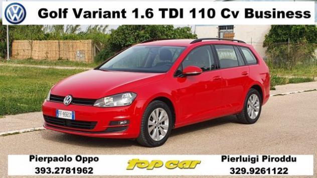 Volkswagen golf 1.6 tdi 110 cv business bluemotion tech.