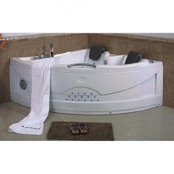 Vasca da bagno idromassaggio angolare 2 posti 150x150 cm