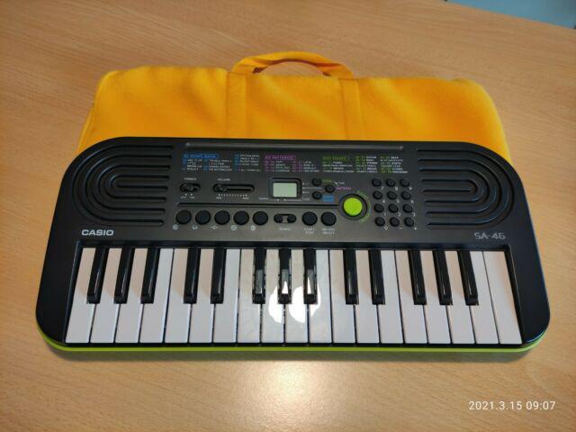 Mini tastiera elettronica casio sa 46