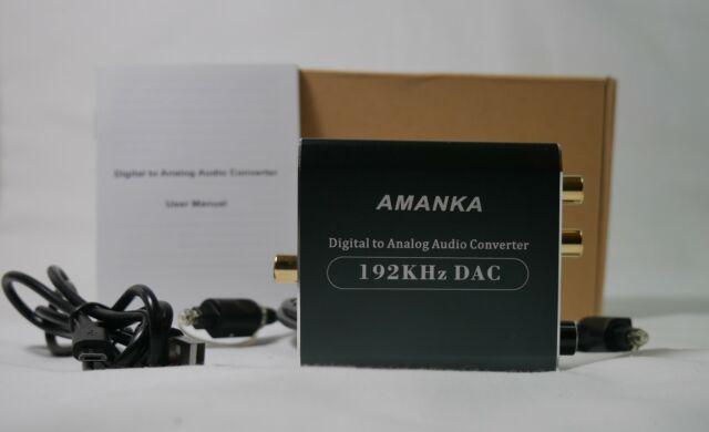 Amanka convertitore audio digitale / analogico