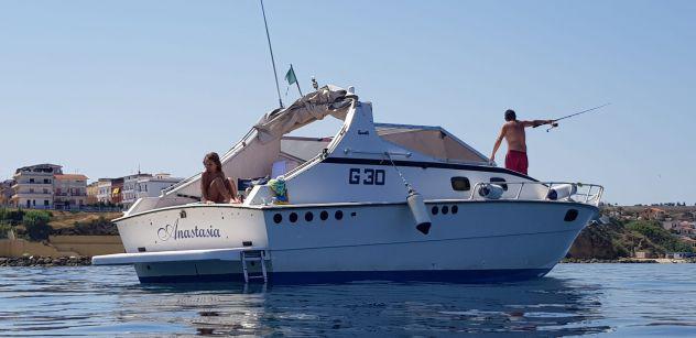 Barca cabinato