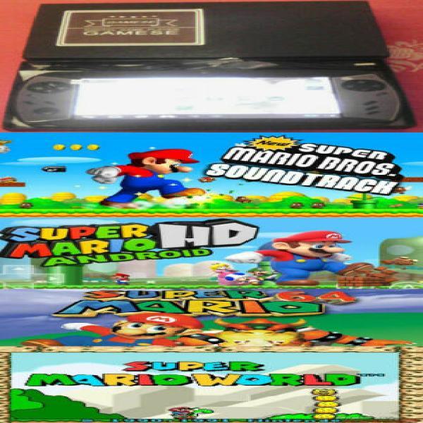 Console nuova portatile android originale tanti giochi
