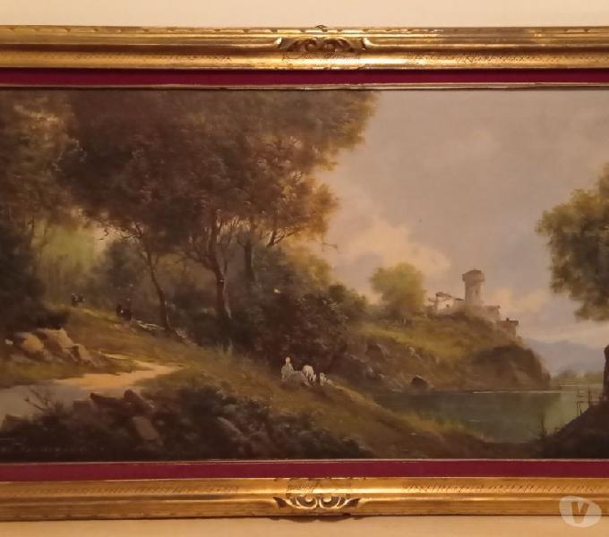 Dipinto olio su tela torino