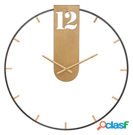 Grande orologio da muro design minimal per arredo