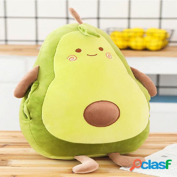Giocattolo farcito avocado frutta peluche giocattolo avocado cuscino cuscino giocattoli di peluche per la decorazione do