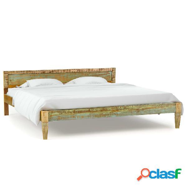 Vidaxl giroletto in legno massello di mango 180x200 cm