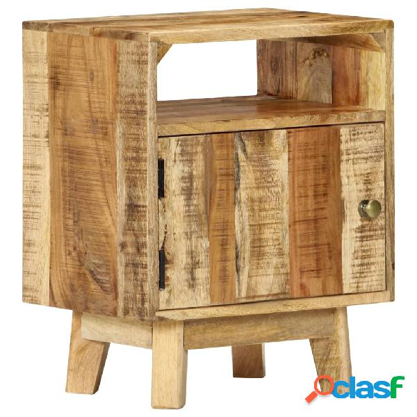 Vidaxl comodino 40x30x50 cm in legno di mango grezzo