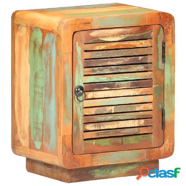 Vidaxl comodino 40x30x50 cm in legno massello di recupero
