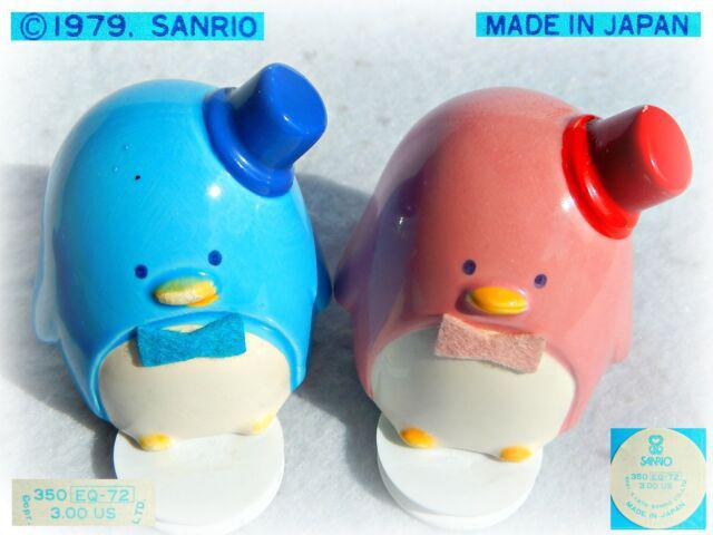 Sanrio pinguino tuxedosam vintage 1980 salvadanaio ceramica