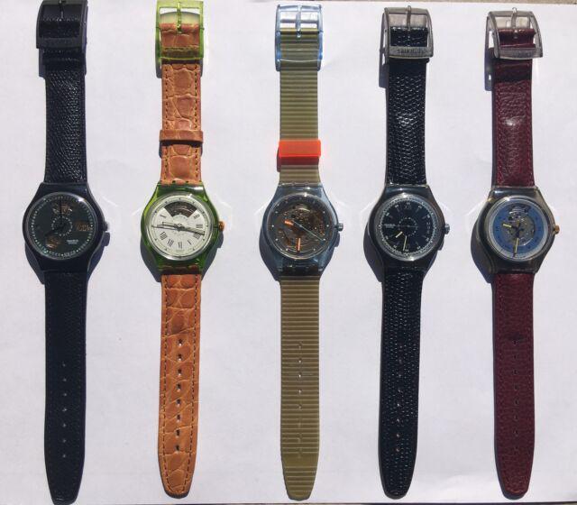 Swatch automatico collezione 5 orologi nuovi