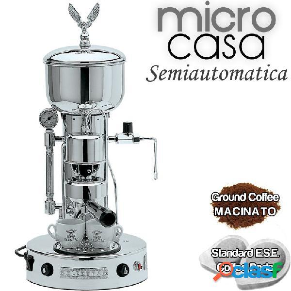 Macchina da caffè semiauto cromo