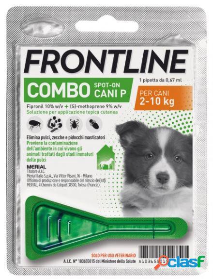 Frontline combo antiparassitario per cani da 2 a 10 kg (1 pipetta)
