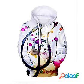 Men's daily hoodie graphic hooded basic hoodies sweatshirts white