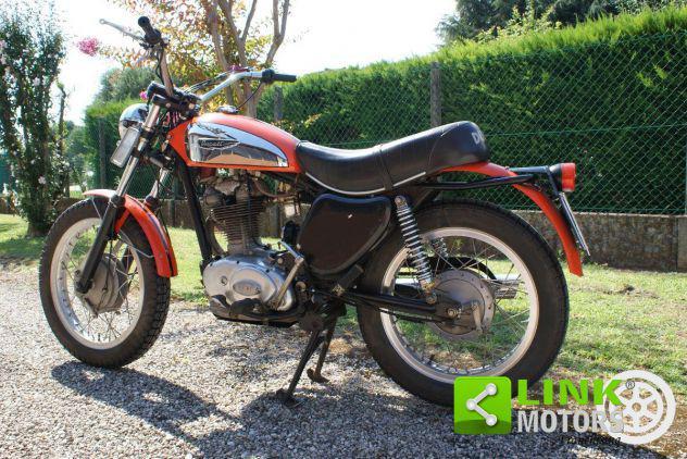 Ducati scrambler 350 unico proprietario anno 1974