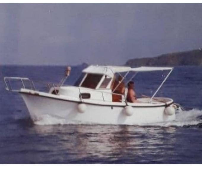 Anaconda 2 barca a motore mt 6 piombino - barche usate occasione
