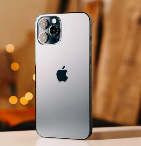 Iphone 12 pro max 128gb argento nuovo
