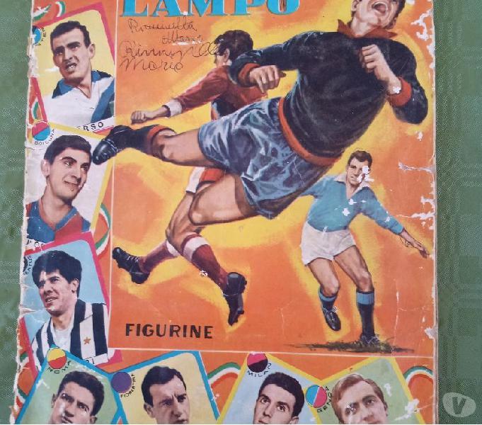 Album figurine calcio lampo 6364 palermo - collezionismo in vendita