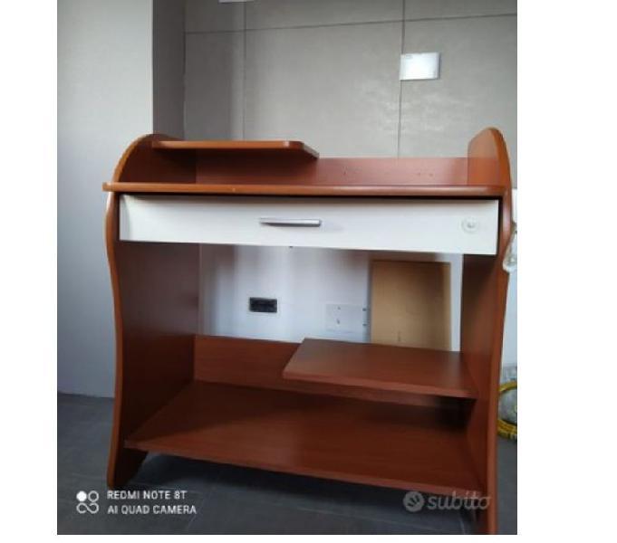 Scrivania porta computer in vendita pianezza - vendita mobili usati